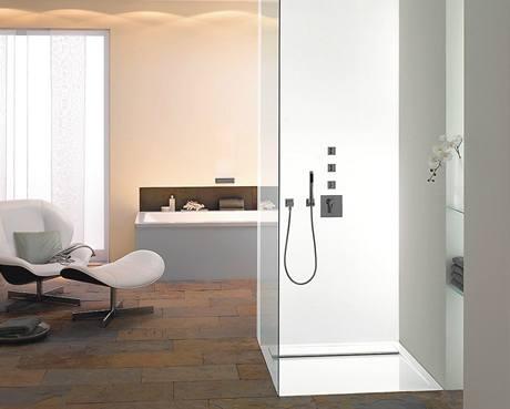 Krása a luxus. Koupelny se spojují s obývacími pokoji