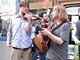 Protest pouličních muzikantů v Brně (4. června 2010)