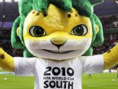 Zakumi, maskot světového poháru v JAR.