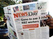 News Day, první soukromý deník v Zimbabwe.