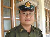 Major Sai Thein Win byl zapojený do jaderného programu země. Fotografie z 6. ledna 2010