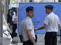 Neznámý muž zastřelil v soudní místnosti bruselského justičního paláce v centru belgické metropole soudkyni a zapisovatele (3. června 2010)