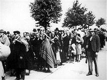 Odsun Němců z Brna, ilustrační foto.
