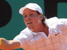 Tomáš Berdych v semifinále Roland Garros