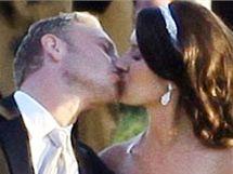 Svatba hollywoodského herce Iana Zieringa.