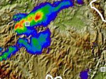 Srážky v úterý 8. června 18:30