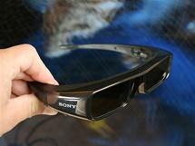 Sony 3D televize a Playstation 3 - aktivní 3D brýle