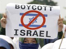 Po zásahu u Gazy se proti Izraeli protestuje i v Indonésii (1. června 2010)