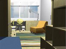 Rekonstrukce malého bytu pro matku a dva syny