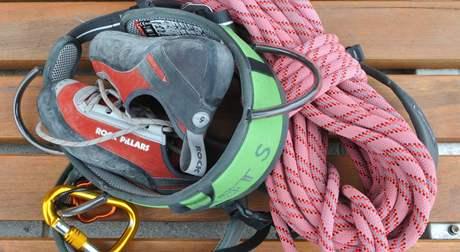 Výbava lezců