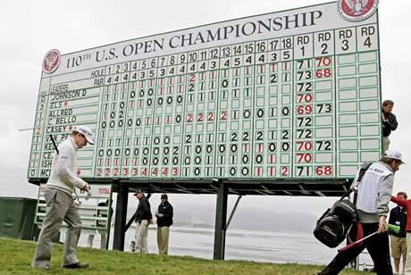 Tom Watson, druhé kolo US Open 2010.