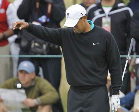 Tiger Woods, US Open, Pebble Beach, 2. kolo