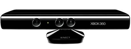 Pohybový snímač Microsoft Kinect, kterému se iSec svou funkčností podobá