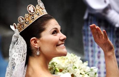Švédská korunní princezna Victoria se ve Stockoholmu provdala za svého snoubence Daniela Westlinga