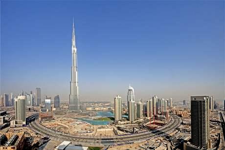 Mrakodrap Burdž Chalífa v Dubaji