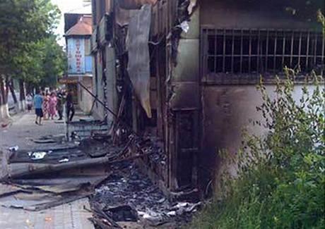 Nepokoje v kyrgyzském městě Oš (11. června 2010)