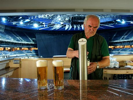 Pro Miloše Erbena je pivní hospodářství O2 arény srdcovou záležitostí