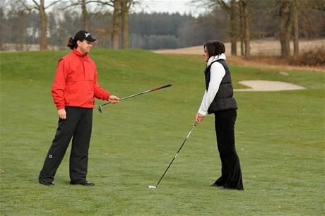 Seriál o golfových pravidlech - zima 2010.