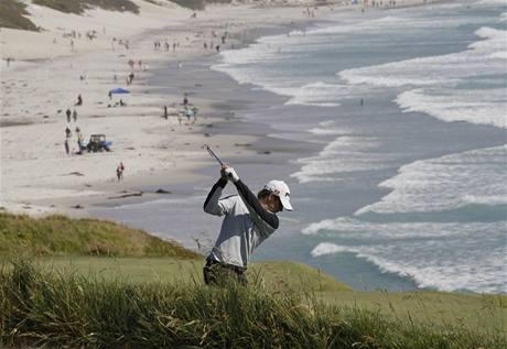 Hřiště Pebble Beach, dějiště US Open 2010.