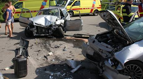 Nehoda v Želechovicích nad Dřevnicí