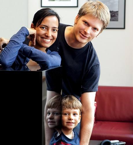 Ana, Jan a Teo, rodina opravdu mezinárodní
