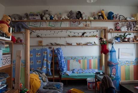 Dětský pokoj před proměnou