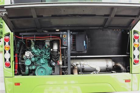 Hybridní autobus Volvo 7700