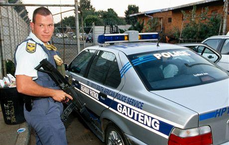 Jihoafrická republika, policie v Gautengu