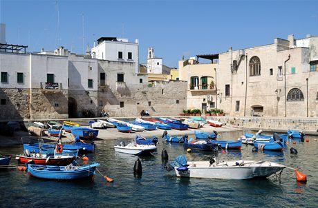 Itálie, starý přístav v Monopoli