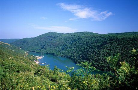 Chorvatsko, Limski Fjord