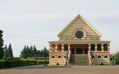 Pardubické krematorium je národní kulturní památkou.