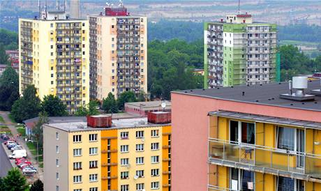 Sokolovské sídliště Michal