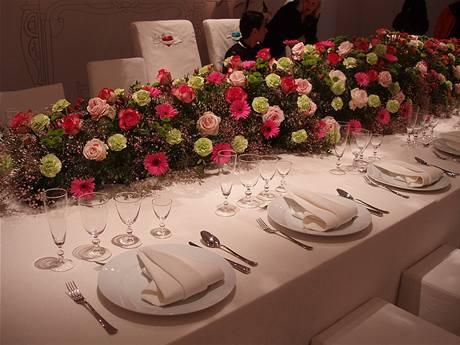 Královská svatební tabule
