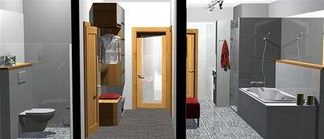 Rekonstrukce panelového bytu 2+kk