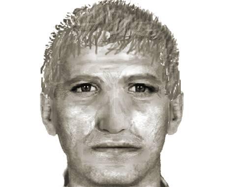 Identikit muže, který na Moravě nejspíš znásilnil pět žen za dva dny (17.června 2010)