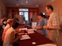 Parlamentní volby v slovenské obci Báč (12. června 2010)