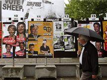 Předvolební kampaň v Belgii (9. června 2010)