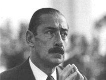 Argentinský diktátor Jorge Rafael Videla
