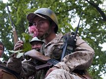 Kyrgyzský voják (16. června 2010)