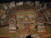 Deska zpodobující bohyni země Tlaltecuhtli