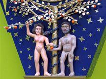 Adam z Evou bez fíkových listů