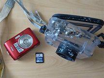 Nalezený fotoaparát je nyní na cestě za svým majitelem (červen 2010)