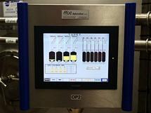 Řídící panel celého systému