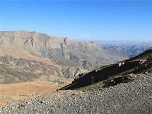 Vysoký Atlas-výhled z výšky 2500m n.m.