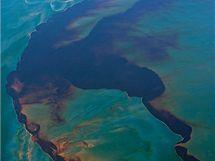 Ropná skvrna v Mexickém zálivu (14. června 2010)