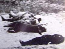 Záběry z popravy v Klatovech