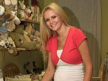 Lucie Hadašová nakupuje výbavu pro miminko