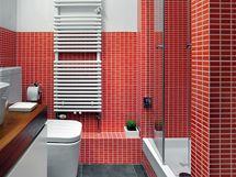 Poměrně malá koupelna vypadá dnes atraktivně a mnohem větší