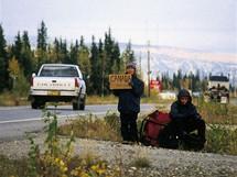 Stopování na Alaska Highway chce trpělivost