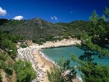 Itálie, Apulie, Gargano, resort Pugnochiuso